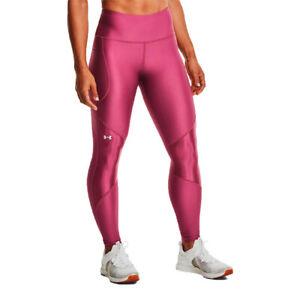 Under Armour Womens HeatGear Shine Full-Length Leggings Bottoms Trousers
