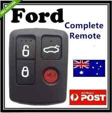 Ford BA BF Falcon Sedan Wagon Central Locking Keyless Car Remote 4 Button