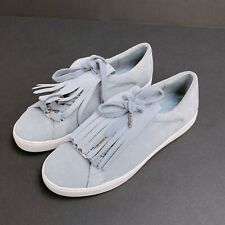 Michel Kors Suede Sneakers W/ Fringe 6.5M