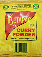 Curry Powder, Jamaican Betapac Curry, 110g  (03.88 oz) US - 3 days shipping