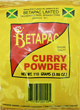 Curry Powder, Jamaican Betapac Curry, 110g  (03.88 oz) US - 1 day shipping