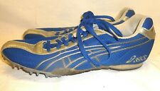 Womens Asics Hyper Rocket Girl II Track Cleats Spikes Shoes Silver Blue 9.5