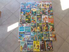 Große-Mega-Sammlung an 35 Jugendbüchern der 70er Jahre aus dem Schneider-Verlag