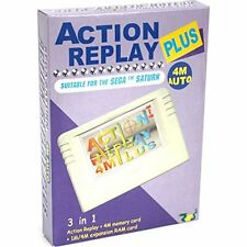 Action Replay 4M Plus for Sega Saturn Cheat Codes RAM Expansion Memory Card Game