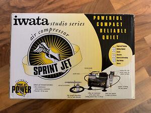 *Brand New* IWATA STUDIO SERIES SPRINT JET AIR COMPRESSOR IS-800