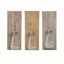 Wood Cottage Bud Vase