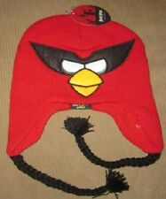 New Red SPACE Angry Birds Adult Beanie Laplander Winter Hat Gift NWT IPhone Game