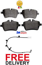 FOR MINI R55 CLUBMAN COOPER S 1.6 2006-2013 FRONT BRAKE PADS & WEAR SENSOR NEW