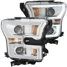 ANZO SWITCHBACK 2015-2017 FORD F150 HEAD LIGHTS *NOT FOR FACTORY HID/LED/RAPTOR