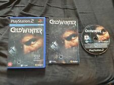 Cold Winter Sony Playstation 2 Spiel ps2