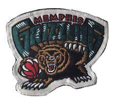 "2004 MEMPHIS GRIZZLIES NBA BASKETBALL VINTAGE 4.25"" TEAM LOGO PATCH"