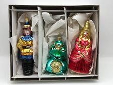 Inge Glas ⭐️⭐️Décorations pour Arbre de Noël Roi Grenouille Jusqu'à 15 cm ⭐️⭐️