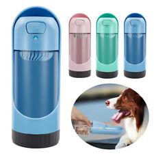 Bebedero Perro Portatil Dispensador de agua de viaje Para Perros con 2x Filtros