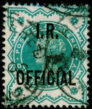 SgO17, ½d blue-green, good used, CDS. Cat £12.