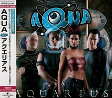 AQUA Aquarius +1  FIRST PRESS JAPAN CD OBI MVCE-24210 Lene