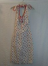 Vintage Dress Agogo Threads Halter Dress Cherry Print Size Small USA