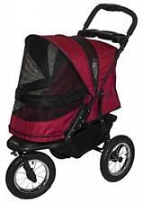 Pet Gear Jogger No-Zip Stroller, Rugged Red Pg8400Nzrr Pet stroller New