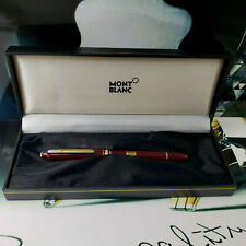 MONTBLANC Meisterstuck 163 Burgundy Red Classic Rollerball Pen