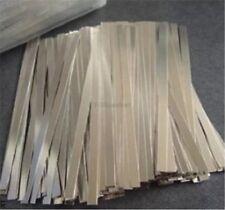 200Pcs Steel Strap Brand New 0.1X5X100MM Strip Sheet For Battery Spot Welder hk