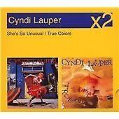 Cyndi Lauper - She's So Unusual/True Colours (2CD) 24HR POST!!