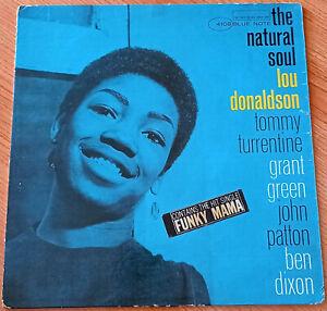 LOU DONALDSON The Natural Soul LP ORIGINAL MONO USA 1963 BLUE NOTE BLP4108