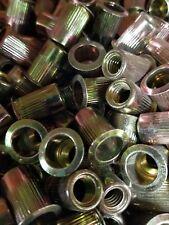 Rivet nuts 3/8-16 steel 10pc Arctic cat #0623-699 (rivnut riv nut nutsert)