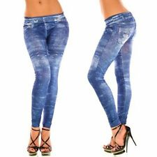 BLUE guardare un come JEANS Fashion Leggings 8 - 14 (cf1296)