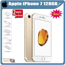 APPLE IPHONE7 128GB ORO GRADO AAA+ ACCESSORI - RICONDIZIONATO SMARTPHONE