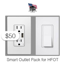$50 Charitable Donation For: Smart Outlet Pack for HFOT