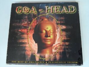"CD GOA HEAD Vol 1 - ""The best of goa-trance & psychedelic techno"" SELTEN ! (2CD)"