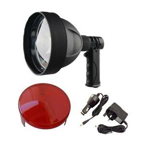 PLR500 LED Hunting Lamp + RED FILTER Long Range rechargeable hand-held light