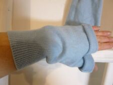 hand crafted /upcycled easy sew cashmere wrist warmers