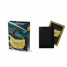Dragon Shield Matte Mini Japanese Jet 60 ct Card Sleeves Individual Pack