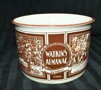 Watkins Almanac Stoneware Soup Mug with Handle 12 oz