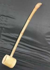 Strong,very long handle dip ladle in the Japanese style for Sauna/steam room