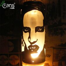 Marilyn Manson Beer Can Lantern! Industrial Goth Metal Pop Art Lamp, Unique Gift