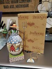Jim Shore Heartwood Creek Frosty Farmer Snowman Figurine #4010359