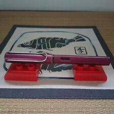 Lamy Al-Star L29EF Black Purple Fountain Pen (EF Nib)