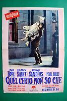 T11 Fotobusta Quel Certo Non So Che Bob Hope Eva Marie Saint George Sanders 4