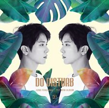K-POP JUNG YONG HWA CNBLUE - Do Distrub [Normal Ver.] CD+96p Booklet+Photocard