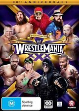 WWE: Wrestlemania 30 NEW R4 DVD