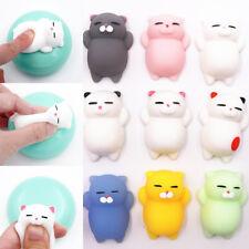 Cute Mochi Squishy Cat Squeeze Healing Kids Kawaii Toy Stress Reliever Funny