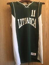 LITUANICA JANKAUSKAS #11 V-Neck HIGH FIVE Basketball Jersey 🏀 M
