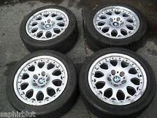 BMW 5 E39 LIMO/TOURING 8x17 BBS RS 845 ALUFELGEN MEHRTEILIG TIEFBETT 235/45 REIF