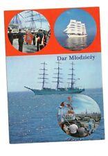 Poland - Dar Mlodziezy - Ship Postcard