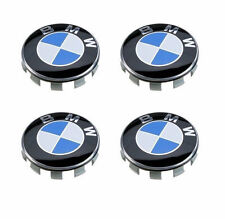 4 Pcs Genuine BMW Emblem Logo Badge Hub Wheel Rim Center Cap 68mm