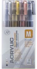 Montana Acrylic extra fine metalizado 4er marker set 0.7mm charol marker marker pens