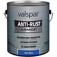 NEW GALLON VALSPAR 0776948 DARK BLUE ANTI-RUST INDUSTRIAL ENAMEL OIL PAINT