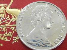 1983 10c Ten Cent Uncirculated From Mint Set Royal Australian Mint ( Specimen )