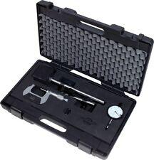 KS TOOLS Bremsscheibenmesswerkzeugsatz, 3-tlg. 150.2230  Messschraube Messuhr